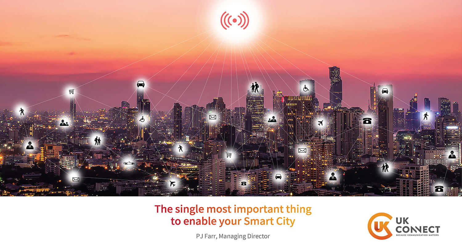 The single most important thing to enable your smart city presentation